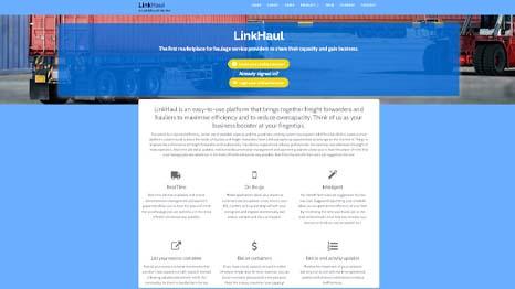 Better, Easier to use: LinkHaul Presents Overhauled Website